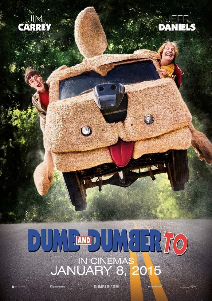 《阿呆与阿瓜2》首曝预告 金凯瑞、丹尼尔斯回归愚蠢逗趣之旅