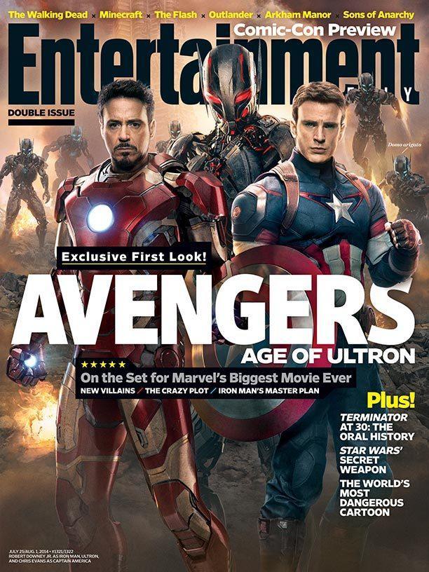 《娱乐周刊》曝光《复仇者联盟2:奥创年代》