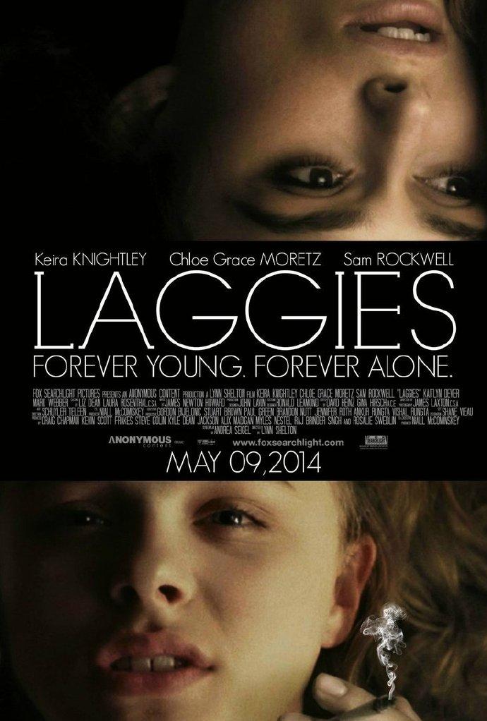 """《永远十六岁》(Laggies)首曝海报预告  凯拉·奈特莉、科洛·莫瑞兹携手""""不想长大"""""""