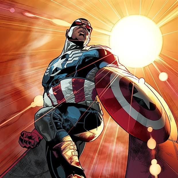 """猎鹰将成为新美国队长! 穿""""二合一""""战服重登场 概念图曝光"""