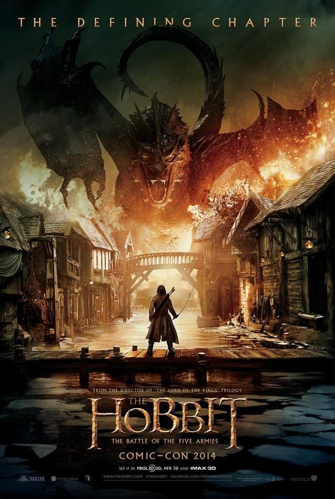 《霍比特人3:五军之战》(The Hobbit: The Battle of the Five Armies)官方预告片(中文字幕)
