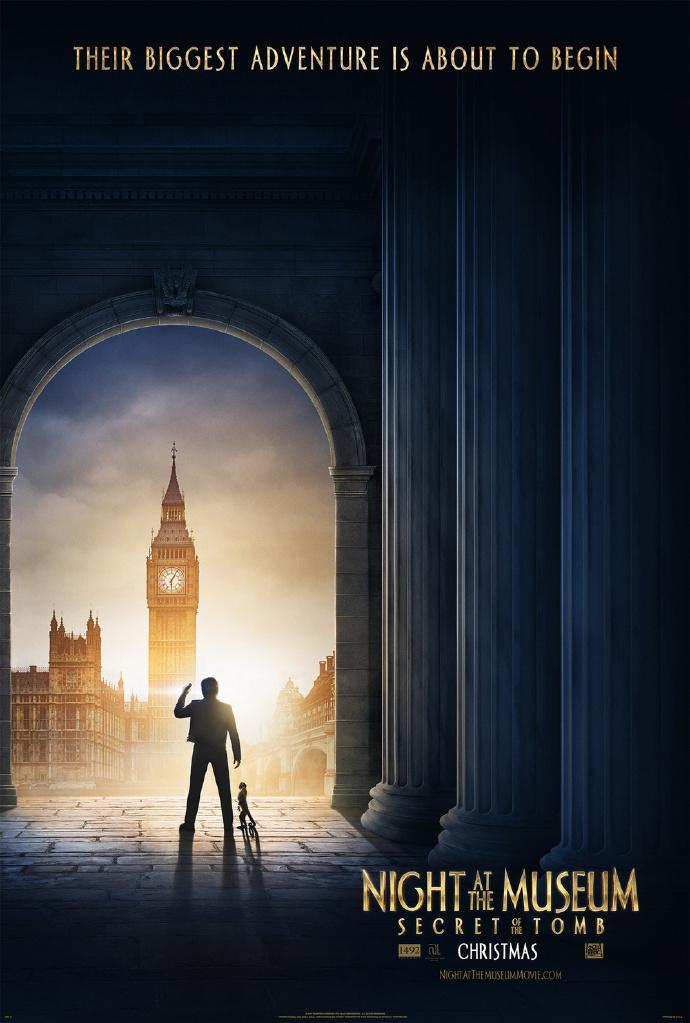 《博物馆奇妙夜3》首曝预告 本斯蒂勒大闹大英博物馆