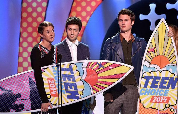 2014年度的全美青少年选择奖(2014 Teen Choice Awards)揭晓