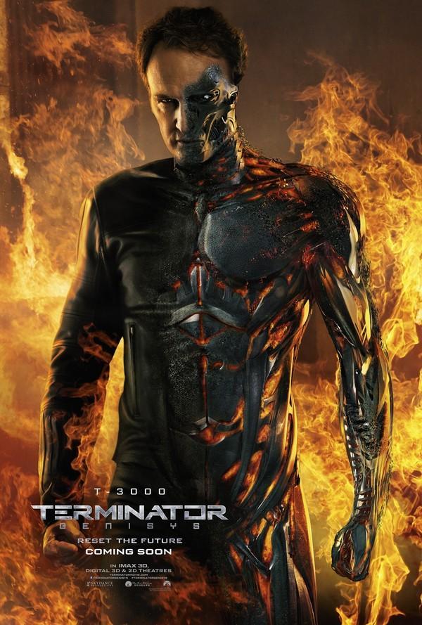 """《终结者5:创世》(Terminator Genisys)海报曝光""""T-3000""""机器人"""