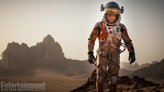 马特·达蒙 主演 雷德利·斯科特科幻新片《火星人》(The Martian)首曝剧照