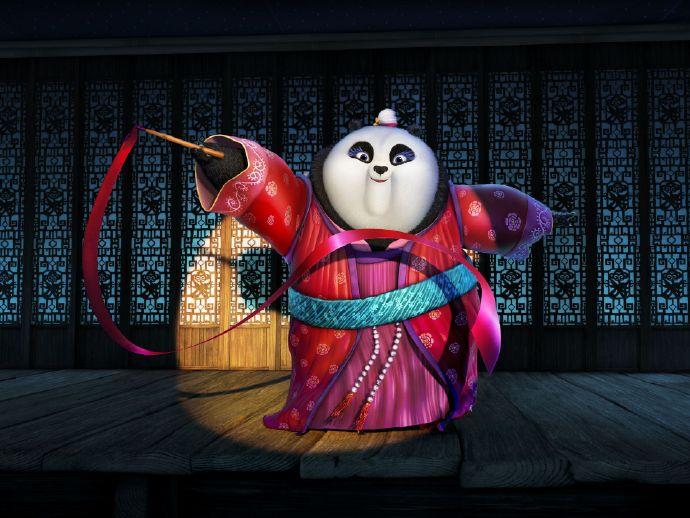 《功夫熊猫3》首曝剧照 阿宝携家族亮相 或将步入婚姻殿堂