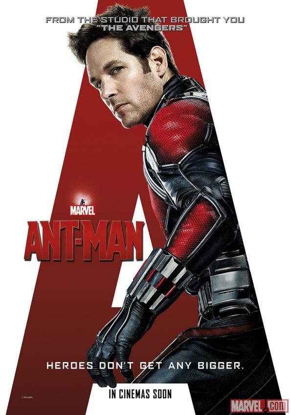 《蚁人》曝光三张新海报 独胆英雄桥下英雄还有眩晕拼贴风