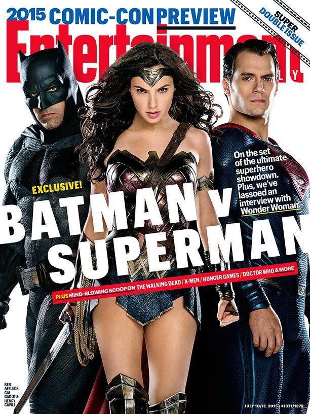 EW:《超人大战蝙蝠侠:正义黎明》封面、剧照曝光