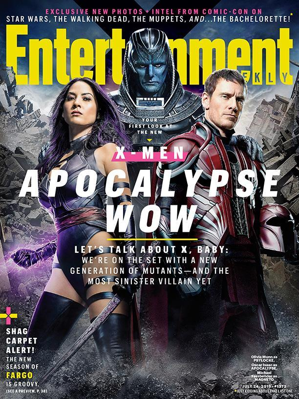 《X战警:天启》(X-Men: Apocalypse)曝新照片