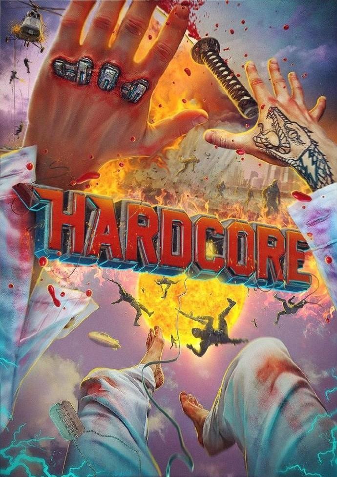 第一人称视角科幻动作电影《硬核大战》(Hardcore)首款预告