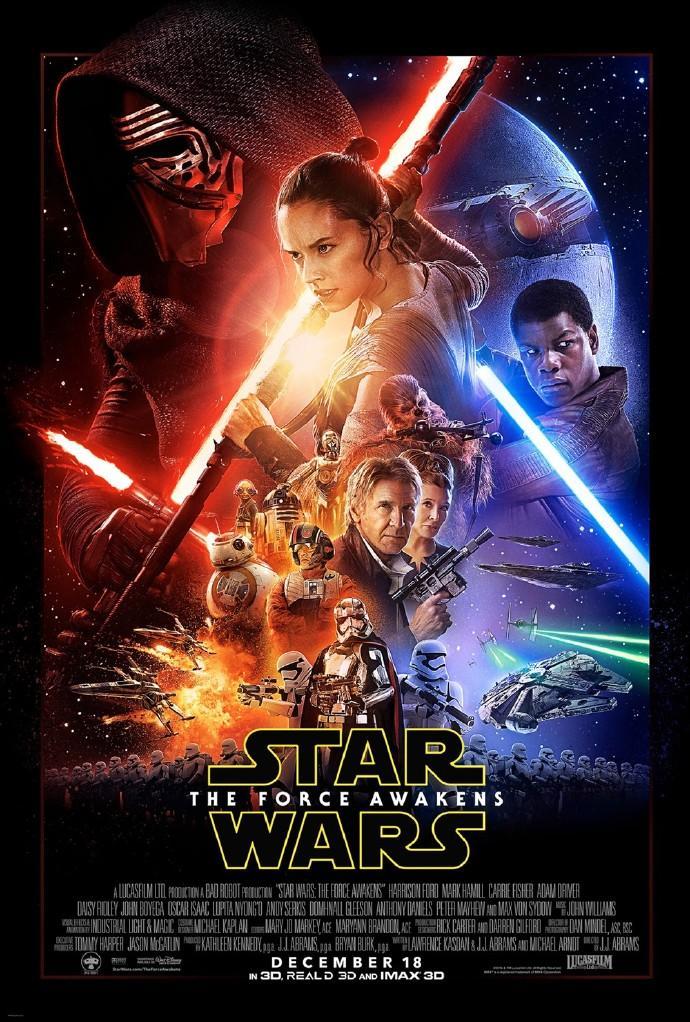 《星球大战:原力觉醒》(Star Wars: The Force Awakens)终极预告片释出