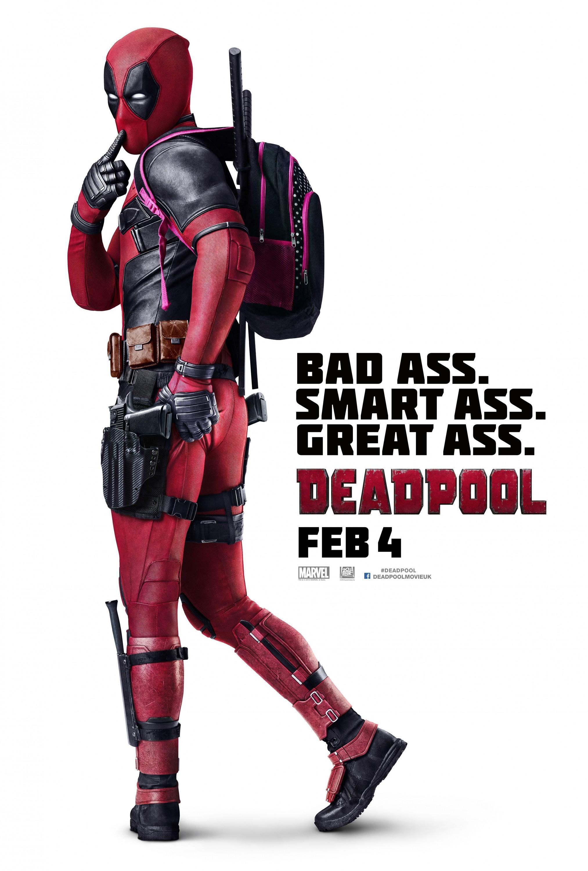 《死侍》(Deadpool)曝国际版海报 小贱贱背起粉书包化身女学生