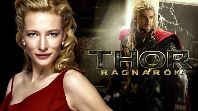 凯特·布兰切特(Cate Blanchett)加盟《雷神3:诸神黄昏》
