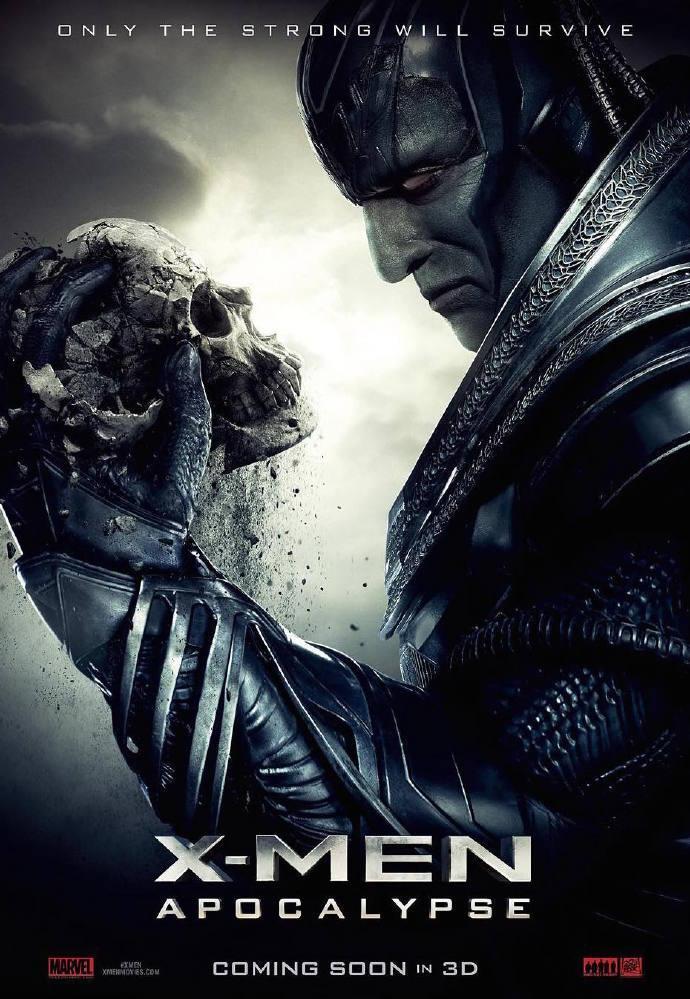 《X战警:天启》曝光首支预告片 X教授光头现身 快银再现飞奔绝技