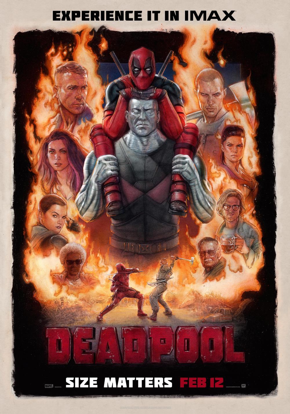 《死侍》(Deadpool)中文全长预告首发 小贱贱口无遮拦秀下限