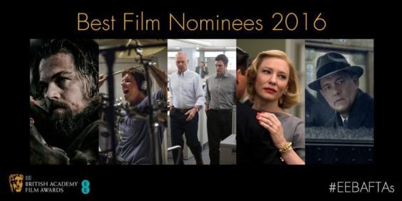 """""""英国奥斯卡""""BAFTA电影奖提名,《卡罗尔》、《间谍之桥》九项提名领跑"""