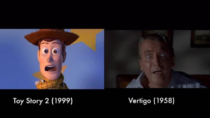 皮克斯动画致敬经典影片混剪( Pixar pays tribute to cinema)