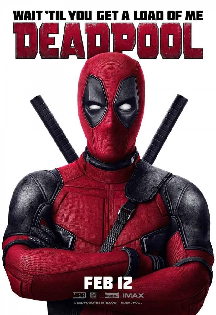《死侍》(Deadpool)发布新海报 小贱贱卖萌无敌 各种性感姿势撩人