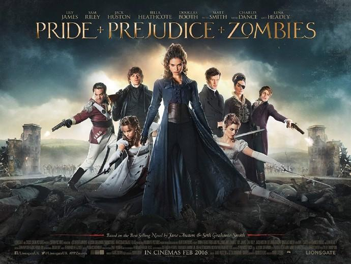 《傲慢与偏见与僵尸》(Pride and Prejudice and Zombies)首曝片段