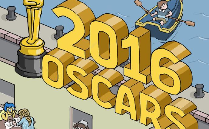 一张图看遍今年奥斯卡参赛片