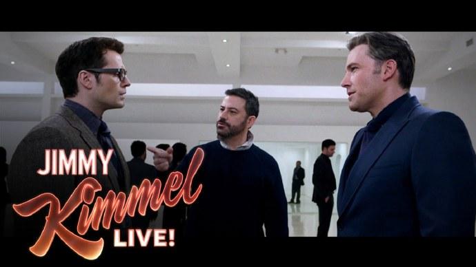 《蝙蝠侠大战超人:正义黎明》被删减片段  Jimmy Kimmel Live