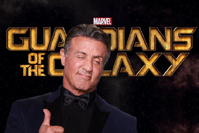 """传史泰龙(Sylvester Stallone)将在《银河护卫队2》中以""""特警判官""""形象登场"""