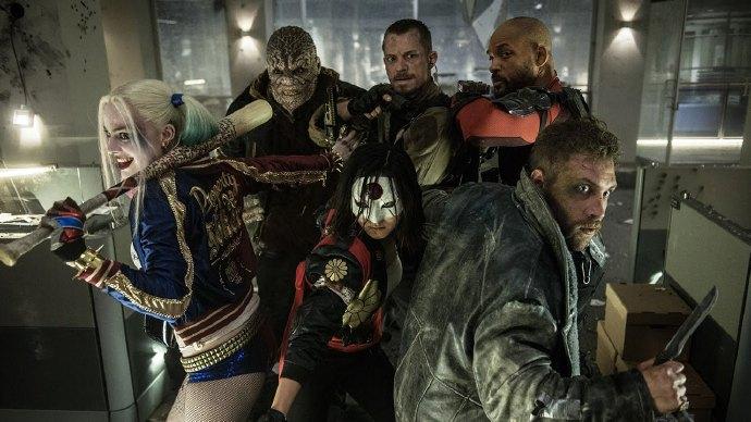 原创作品《自杀小分队》(Suicide Squad)预告混剪