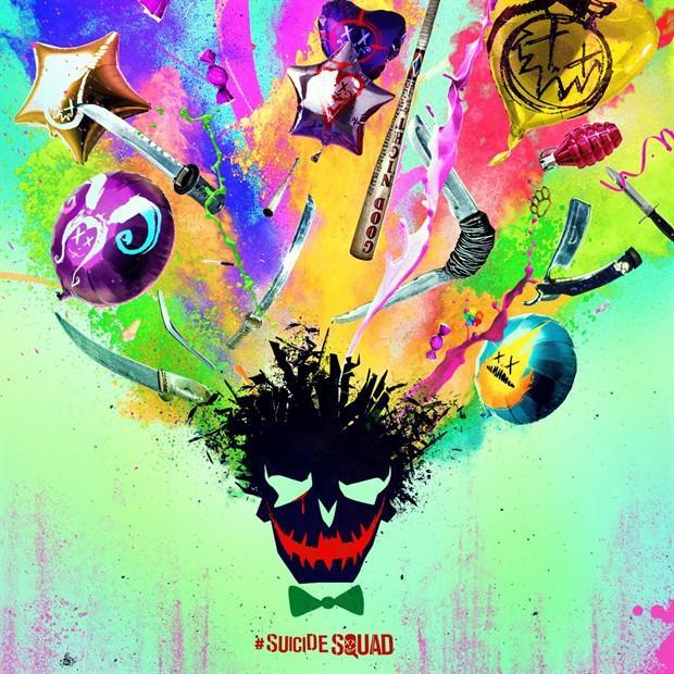 《X特遣队》新海报脑洞大开 小丑头顶七彩祥云 喷出小队成员代表元素