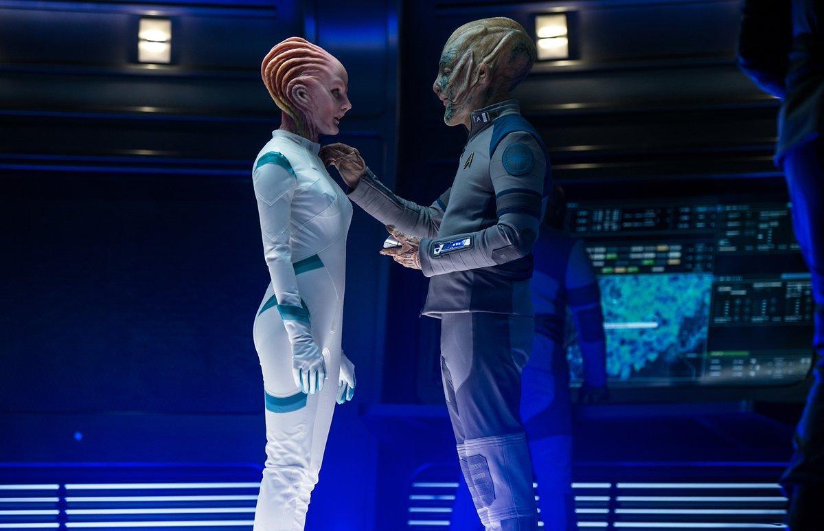 亚马逊CEO杰夫·贝佐斯(Jeff Bezos)客串《星际迷航》,外星造型曝光