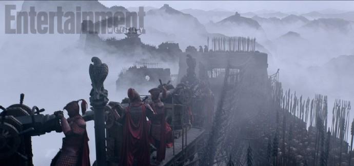 张艺谋执导马特·达蒙主演《长城》(The Great Wall)定档首曝预告