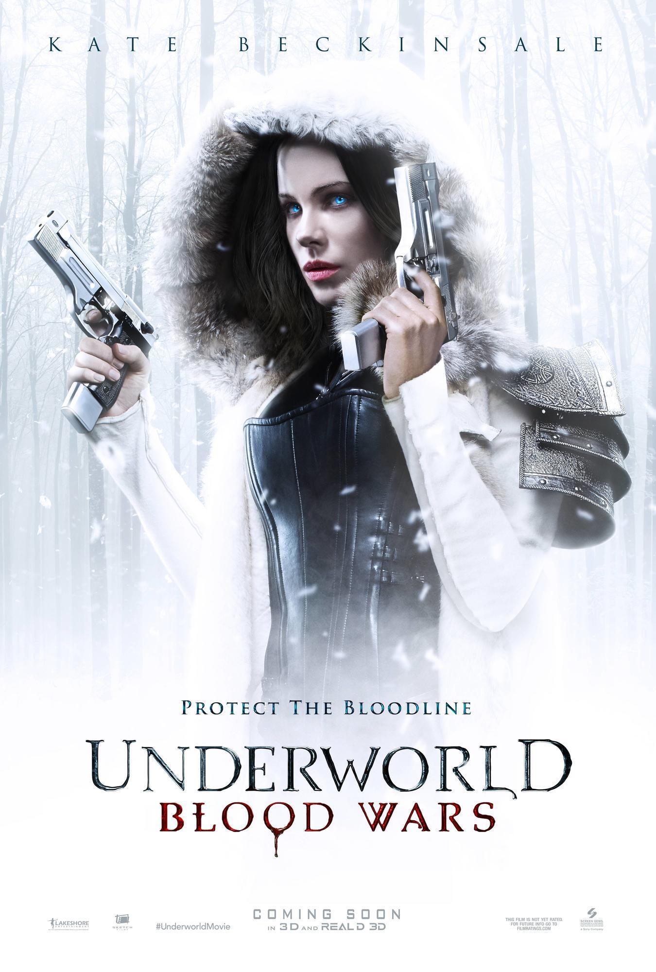 凯特·贝金赛尔《黑夜传说5:血战》(Underworld: Blood Wars)最新预告片