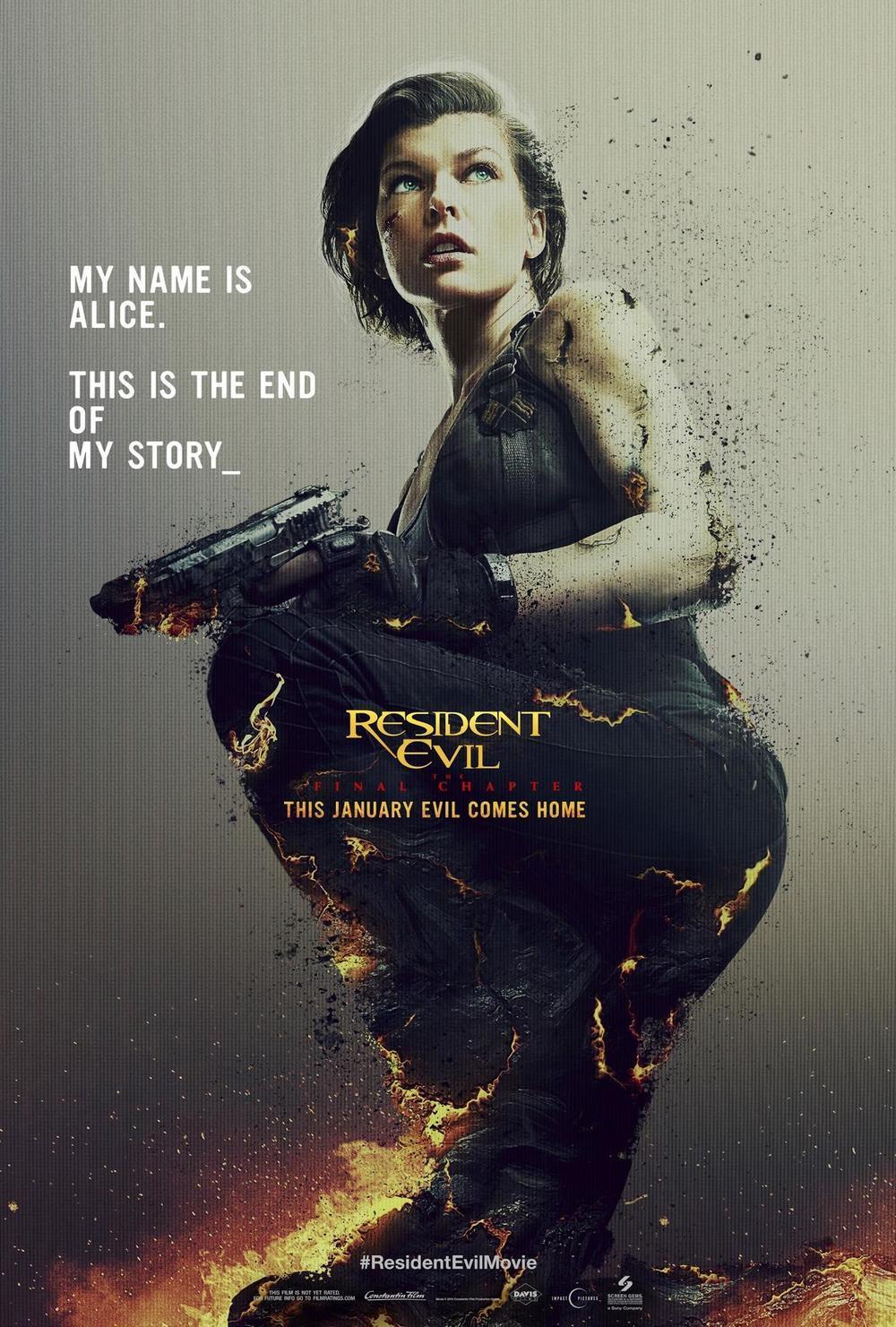 《生化危机:终章》曝预告 米拉重回蜂巢 与丧尸大军终极决战