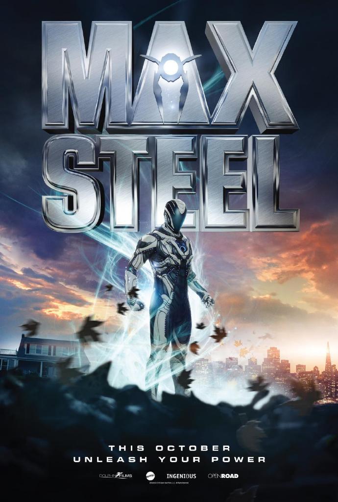 科幻电影《钢铁骑士》(Max Steel)发中文预告片