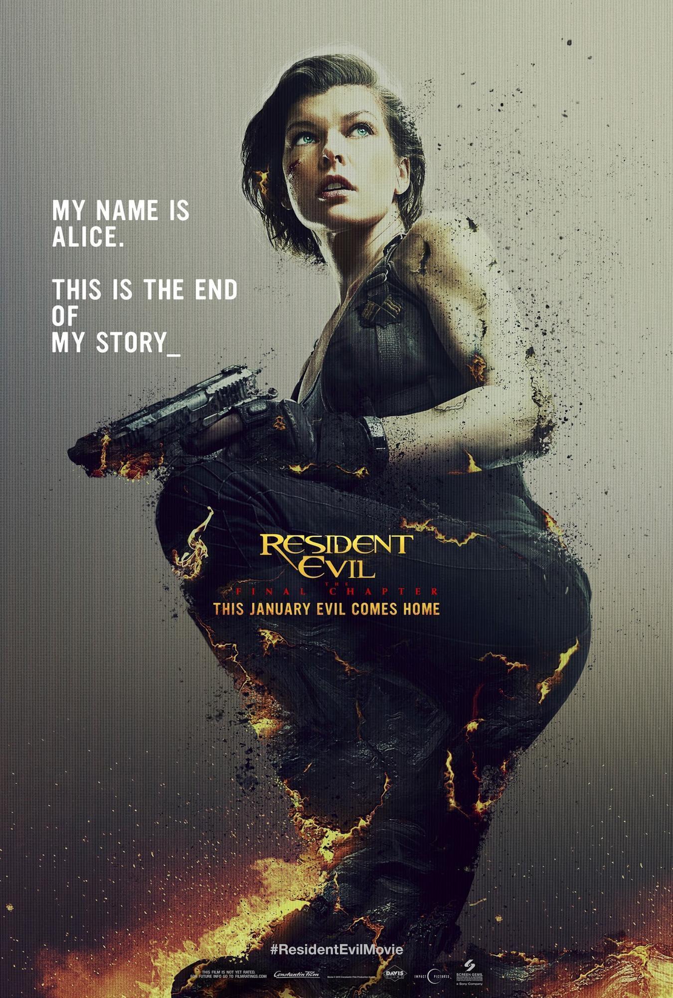 米拉·乔沃维奇《生化危机6:最终章》(Resident Evil: The Final Chapter)中文预告#2