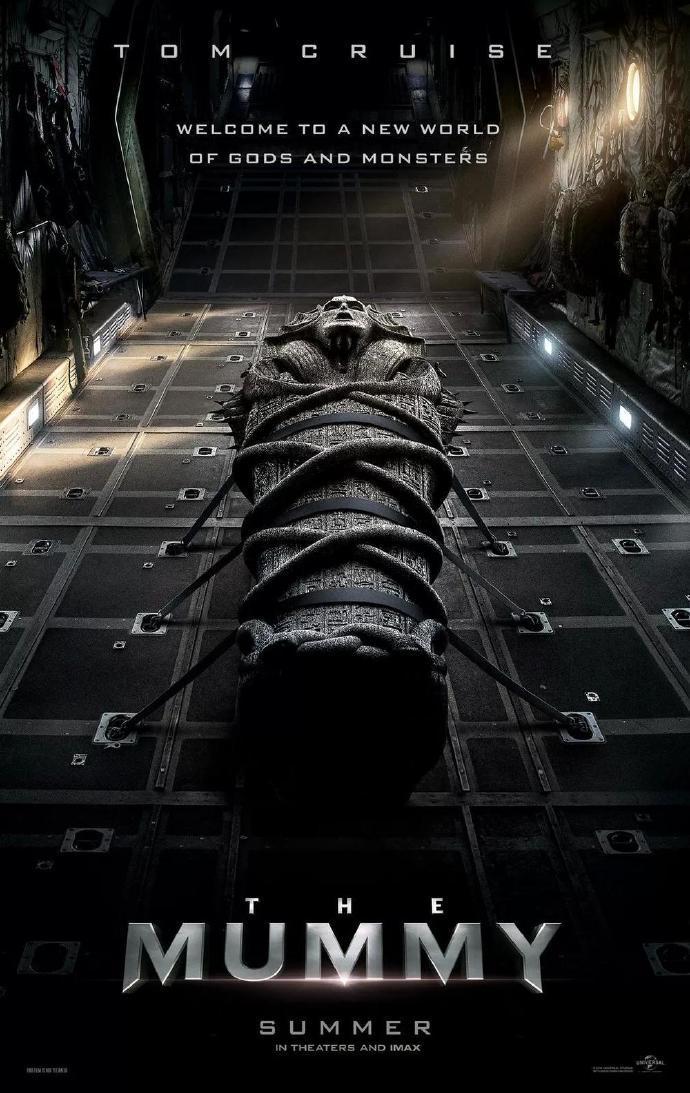 汤姆·克鲁斯《木乃伊》(The Mummy)曝光首支中文预告以及中文幕后特辑