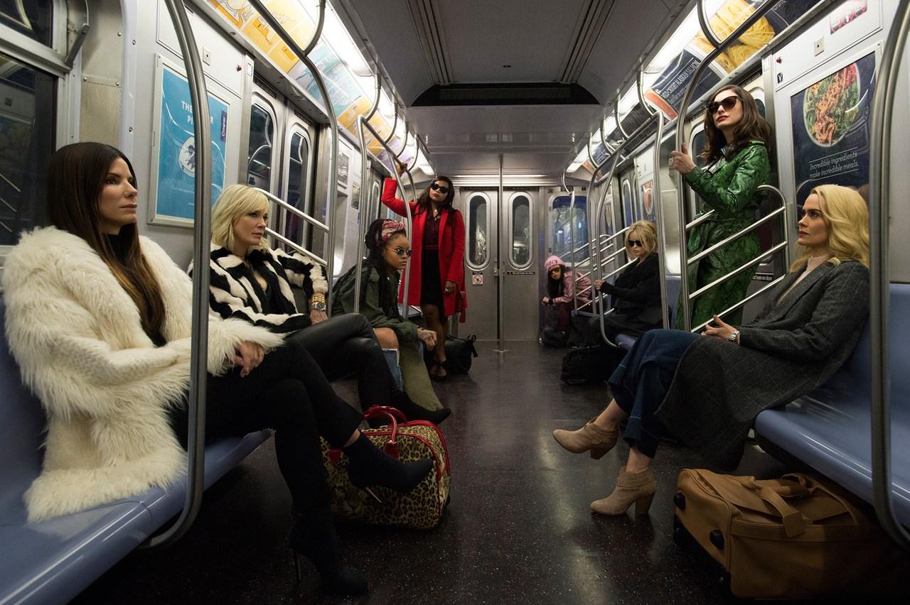 《八罗汉》(Ocean's 8)公布首张剧照 八名女罗汉全员亮相
