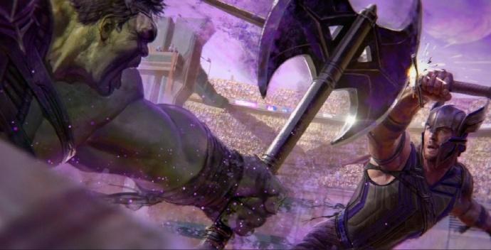 《雷神3:诸神黄昏》(Thor: Ragnarok)曝光概念艺术新图