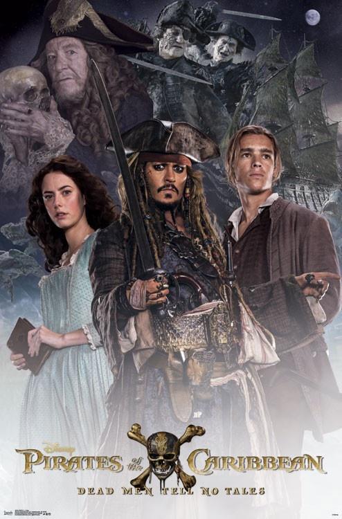 《加勒比海盗5》曝海报新铁三角诞生