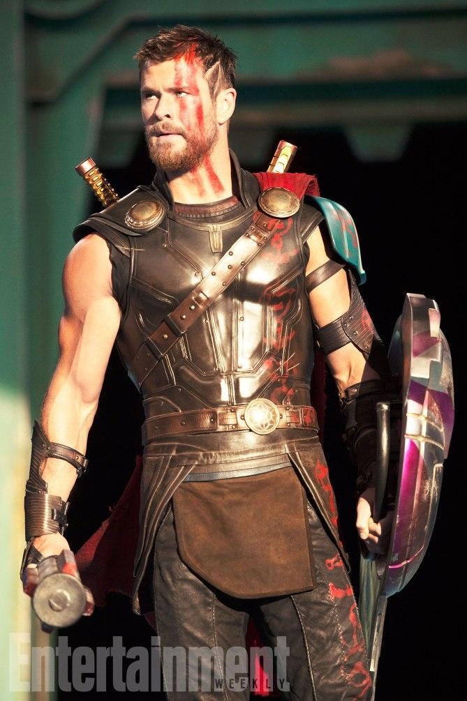 《娱乐周刊》曝光《雷神3:诸神黄昏》(Thor: Ragnarok)众角色