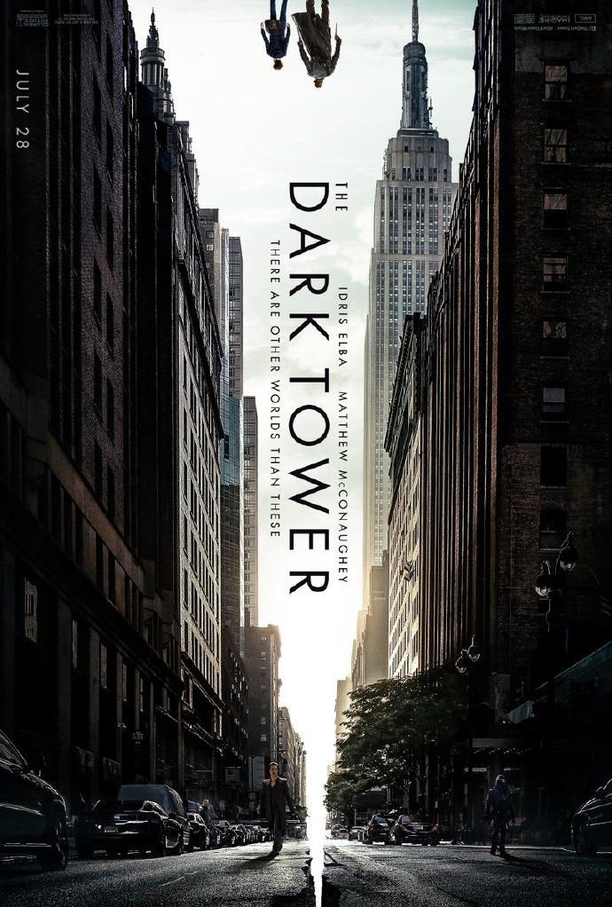 马修麦康纳藏身《黑暗塔》(The Dark Tower)首款海报