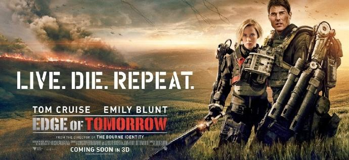 《明日边缘2》片名叫做《生死轮回》(Live Die Repeat and Repeat)