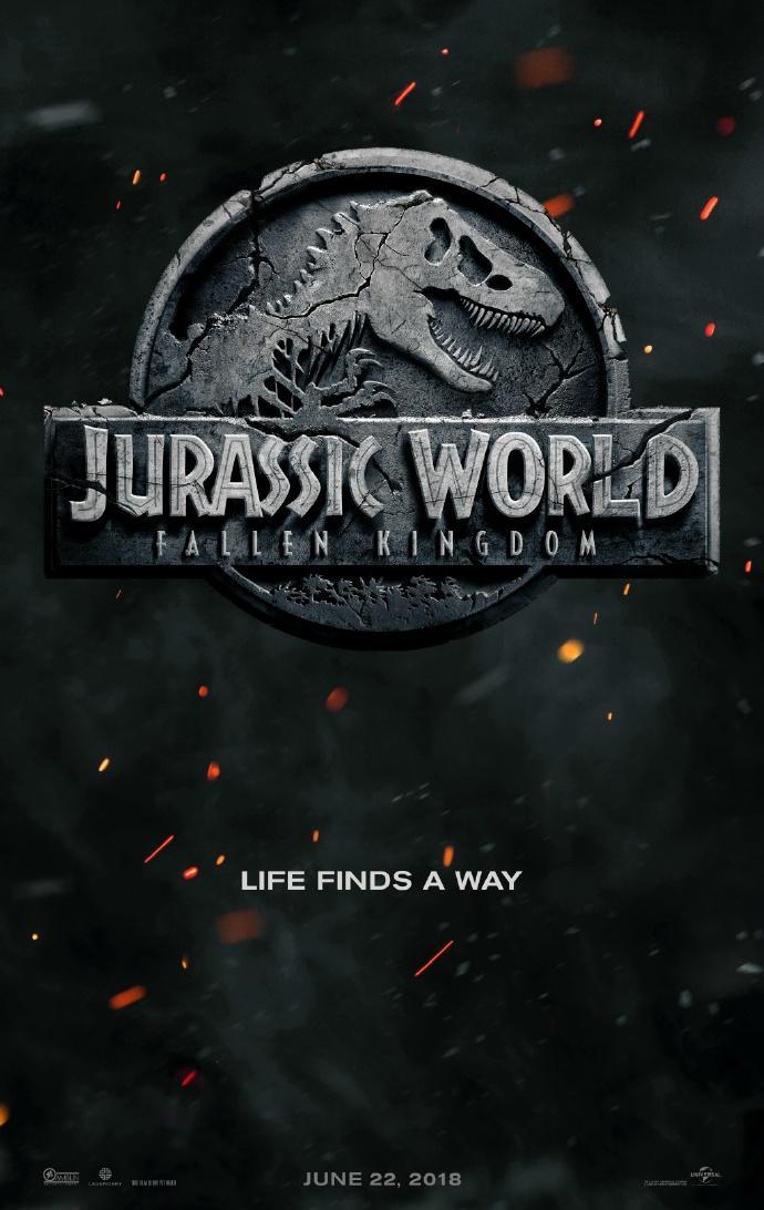 《侏罗纪世界2》副标题为《陷落的王国》