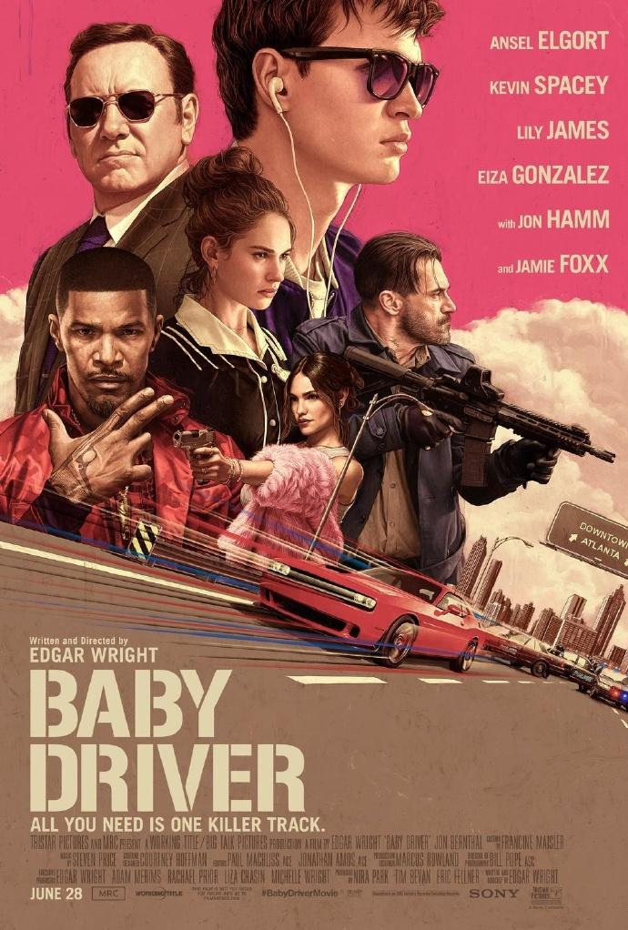 《极盗车神》(Baby Driver)三预告&MV齐发【4V】