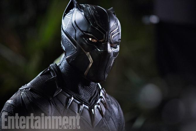 漫威《黑豹》(Black Panther)曝光多张剧照及片场照