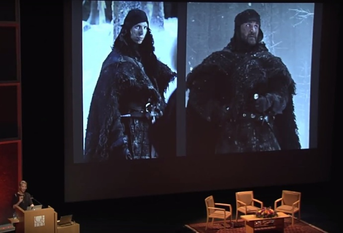 《权力的游戏》囧雪诺制服是宜家毯子 宜家出了个披肩 DIY 教程