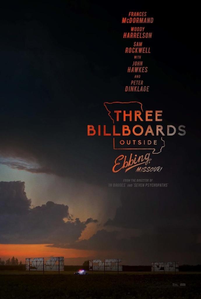 《三块广告牌/意外》(Three Billboards Outside Ebbing, Missouri)全新中文预告