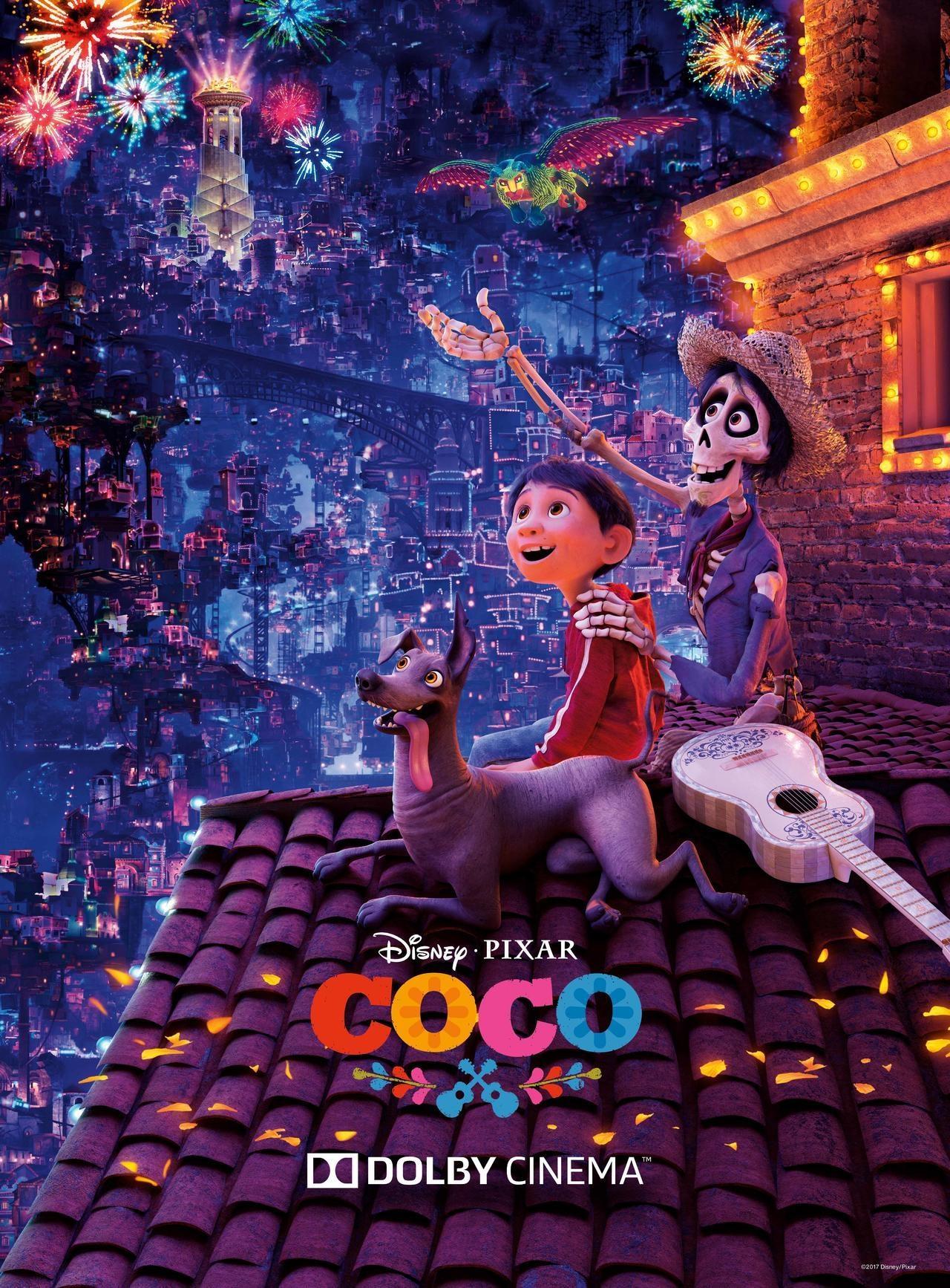 《寻梦环游记》(Coco)杜比影院版海报&片段抢先看