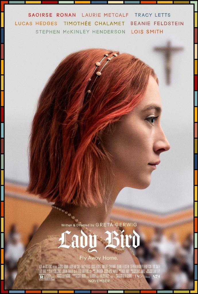 《小鸟女士》被评为2017年纽约影评人协会最佳影片