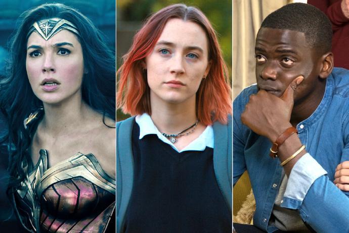 2017美国电影学会(AFI)十佳电影, 电视剧名单公布
