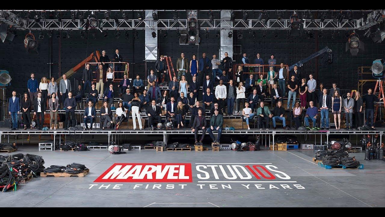 漫威电影宇宙十周年最全大合影来袭! 集结MCU几乎所有英雄
